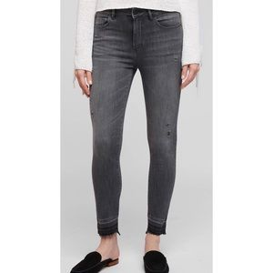 DL1961 Farrow Gray Instaslim Ankle High Rise Jeans